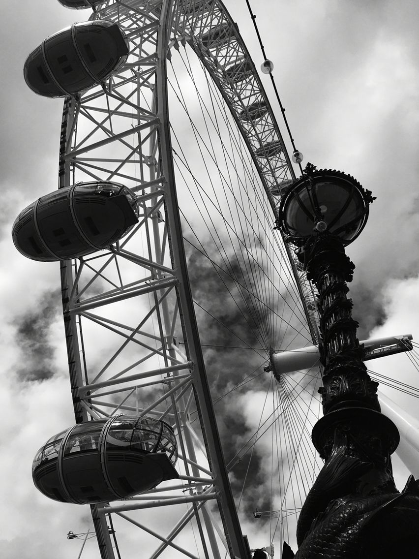 Noir cover of The London Eye. My favourite capture of the day. Can't beat a day in the Capital.