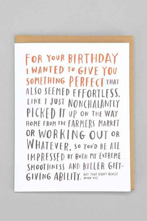Emily McDowell For Your Birthday Card – Urban Birthday Cards