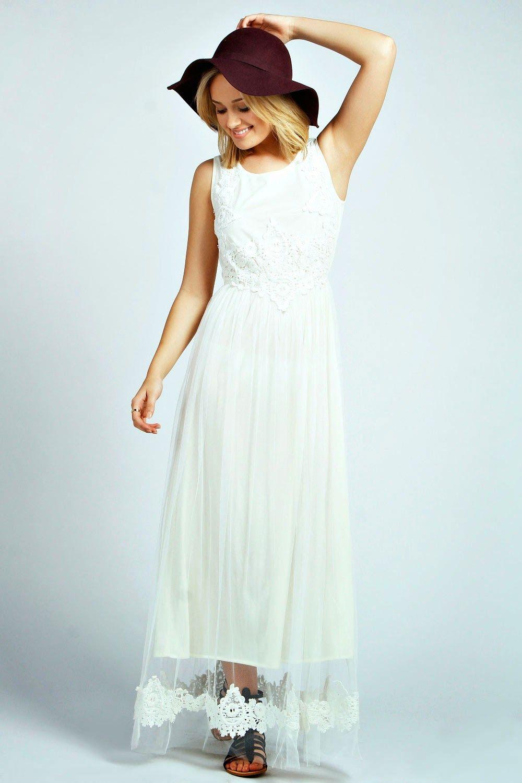 Maxi dress style wedding dresses