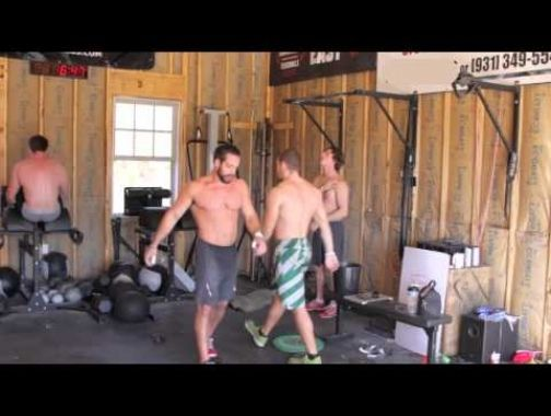 Rich froning garage training partner wod crossfit beast