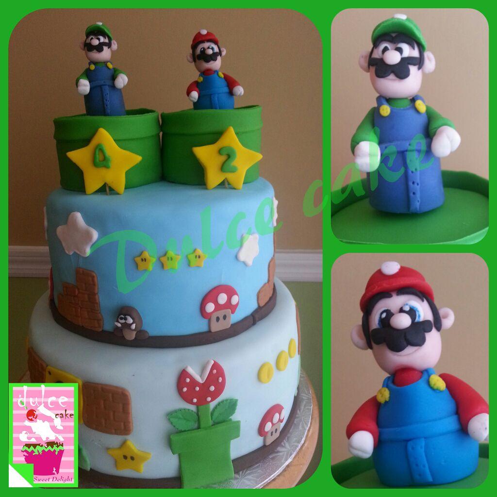 Mario Amp Luigi Cake
