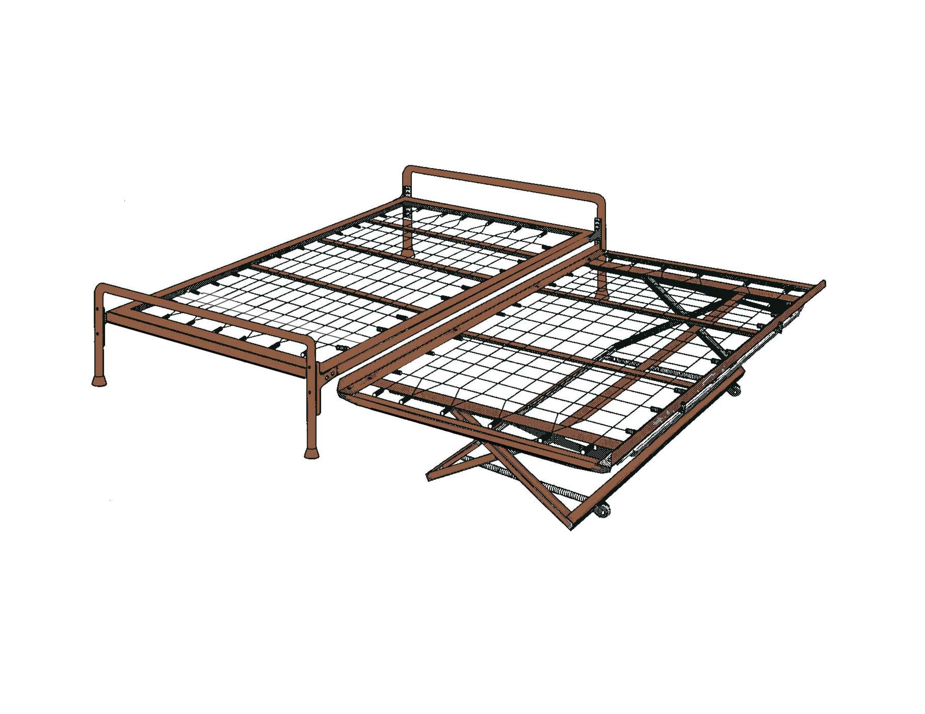 Simple Daybed In Metal