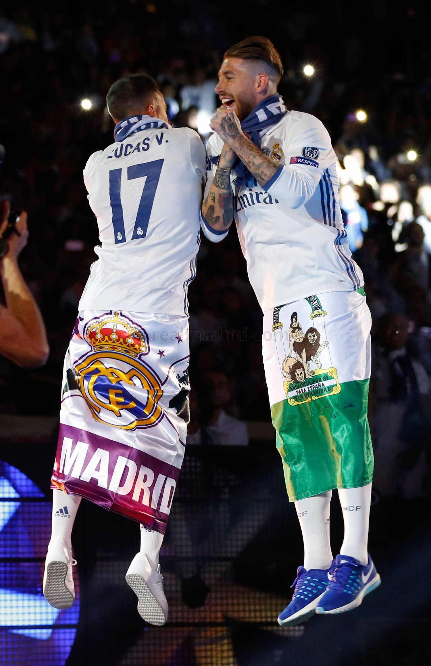 Fiesta de la Duodécima en el Santiago Bernabéu | fotos | Real Madrid CF