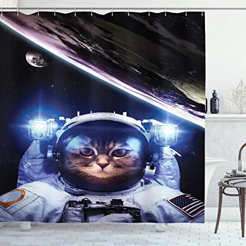 Amazon Com Cat In Space Home Kitchen Space Cat Cats Home Kitchens