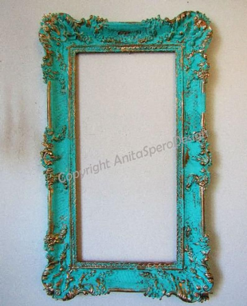 wooden photo frame,decorative picture frame,free standing frame,embellished frame,vintage off white,up-cycled photo frame,home decor