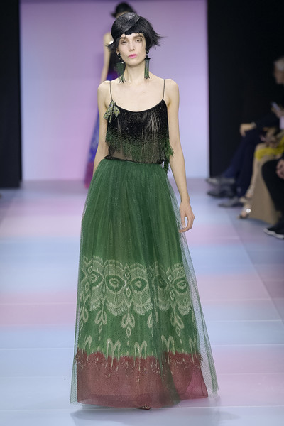 Armani Privé at Couture Spring 2020