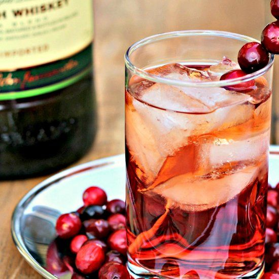 Sip On This Jameson Irish Whiskey With Cranberry Juice