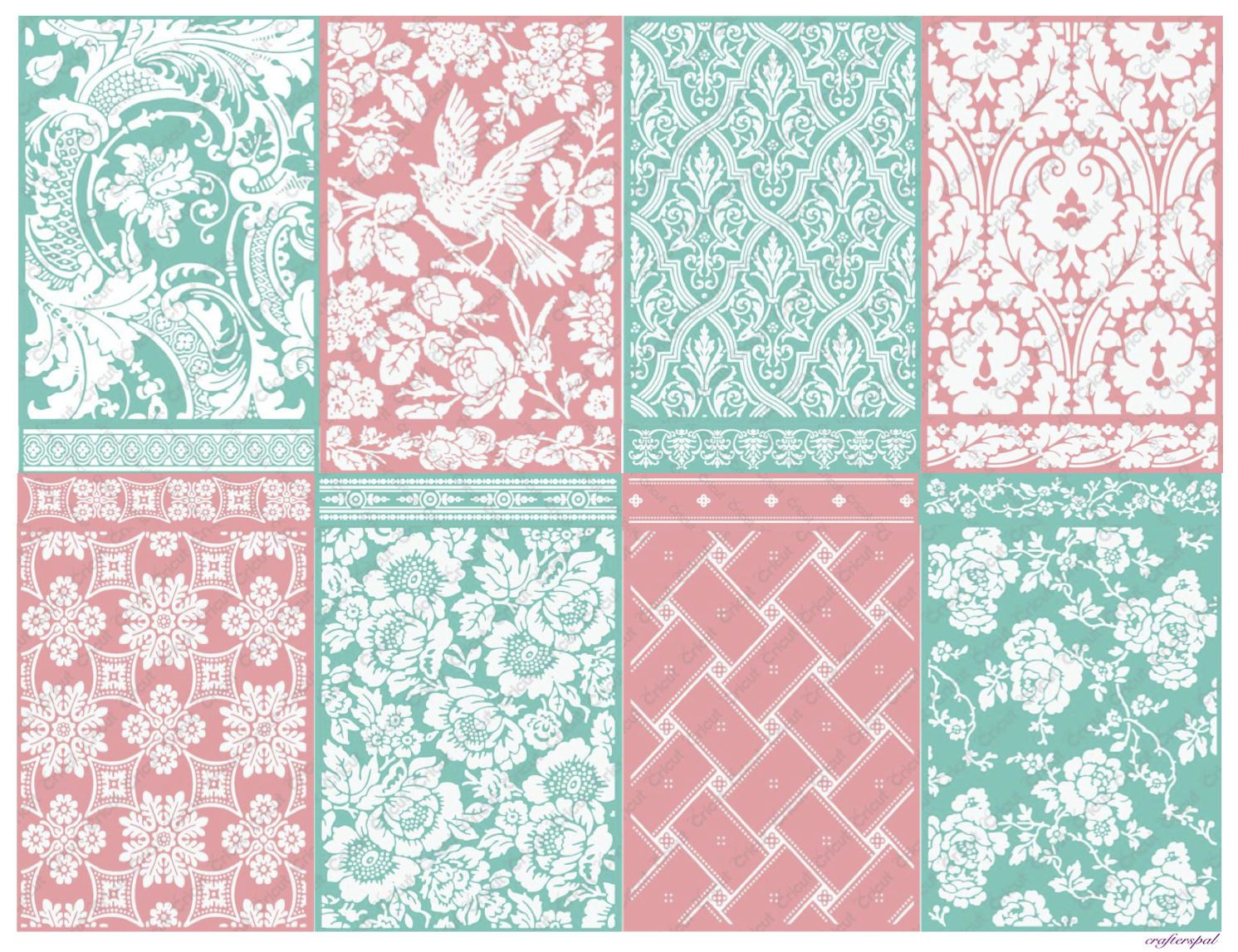 INSPIRING IMPRESSIONS Embossing Folders /& Borders by Anna Griffin