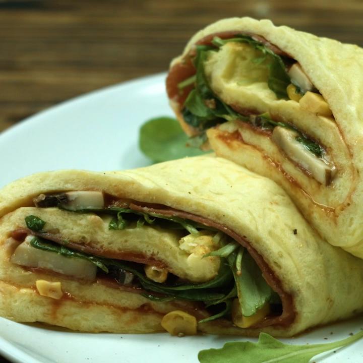Low Carb Pizzarolle Rezepte #koolhydraatarmerecepten