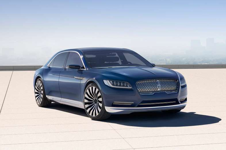 The 83 Hottest New Cars For 2016 Lincoln Continental Lincoln Continental Concept Lincoln Cars