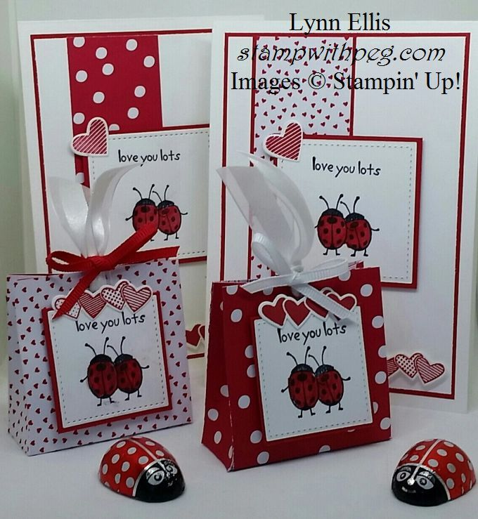 Sealed With Love Valentines Treat Bag And Matching Card With