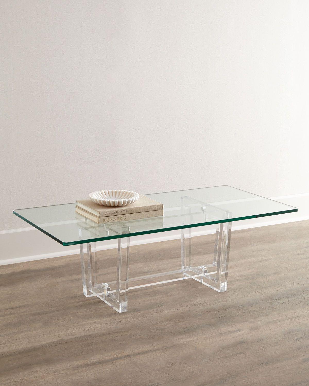 Interlude Home Aldon Acrylic Coffee Table Decoracion De Unas