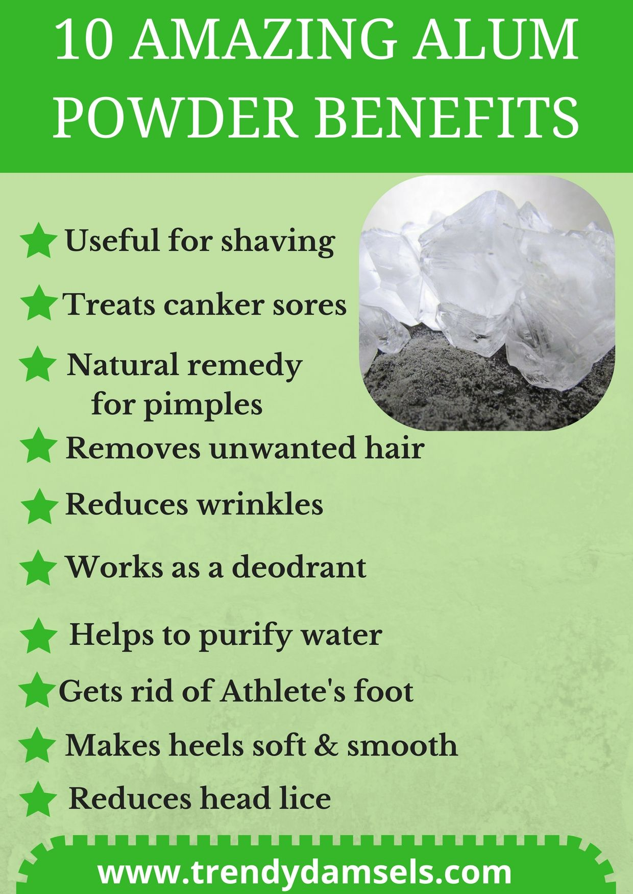 alum powder | DIY Beauty in 2019 | Natural remedies for