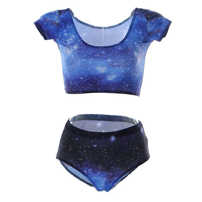 4de925d6c6 Galaxy Two Piece Swimsuit