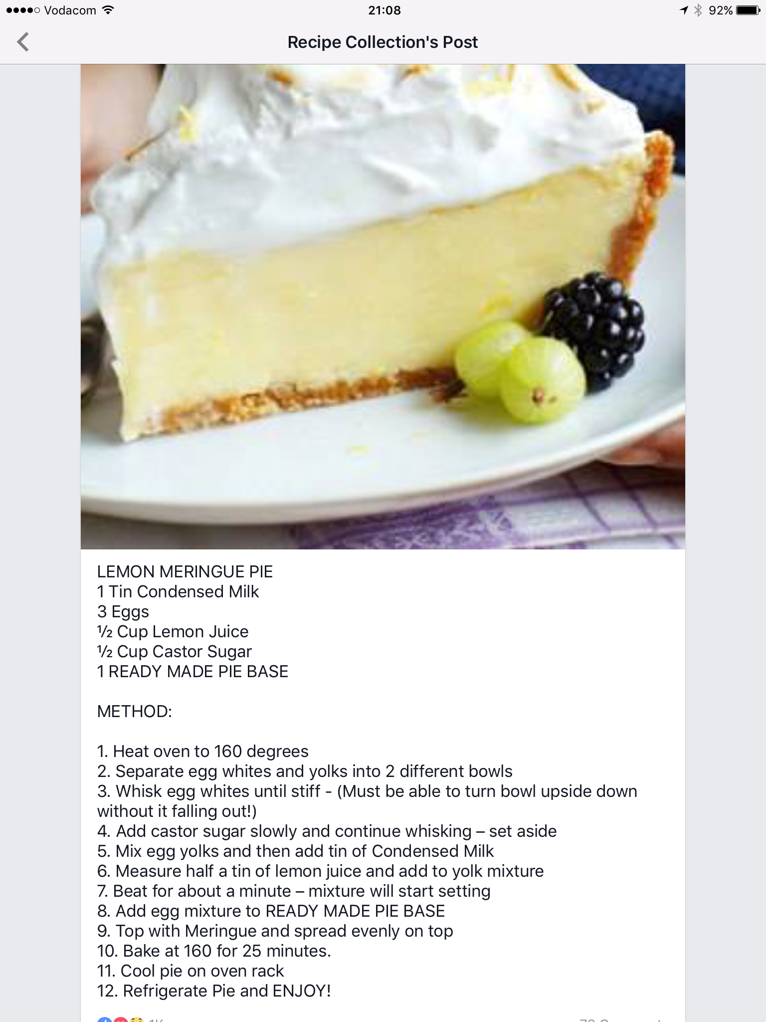 Pin By Lisa Kenady On Cheese Cakes Tarts Meringue Pie Recipes Tart Baking Tart Recipes