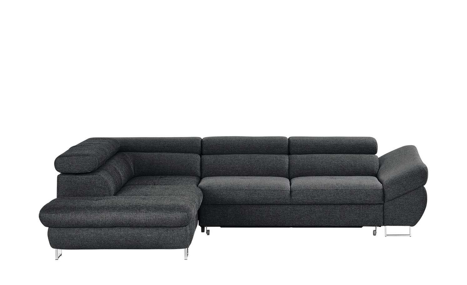 Ecksofa Clintwood Switch Ecksofa Grauschwarz Webstoff Fabio Living Room