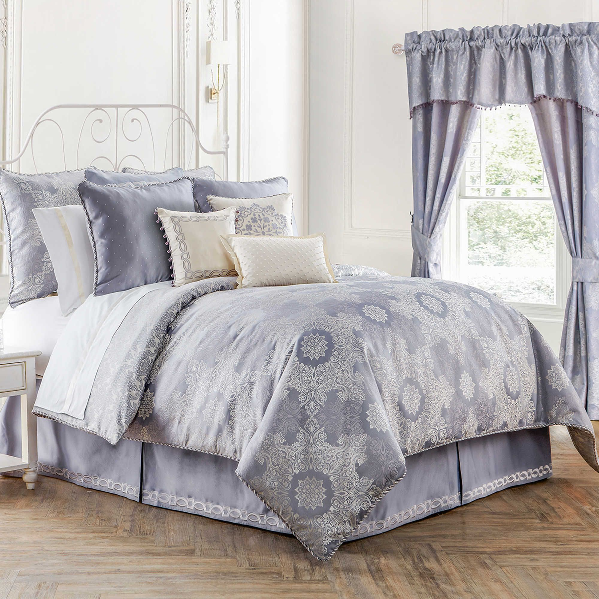 glass free bedding piece new overstock shipping product set sea soho home today cotton york comforter bath hotel