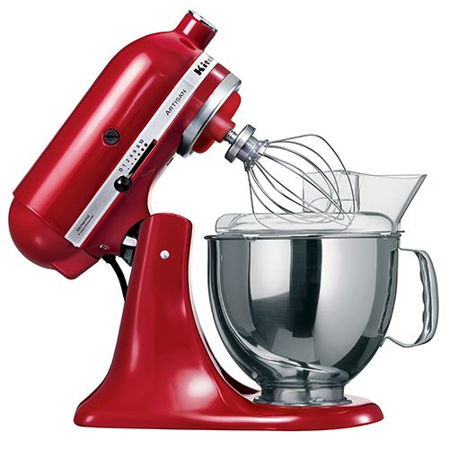 Kitchenaid Artisan Mixer Empire Red Hand Constructed