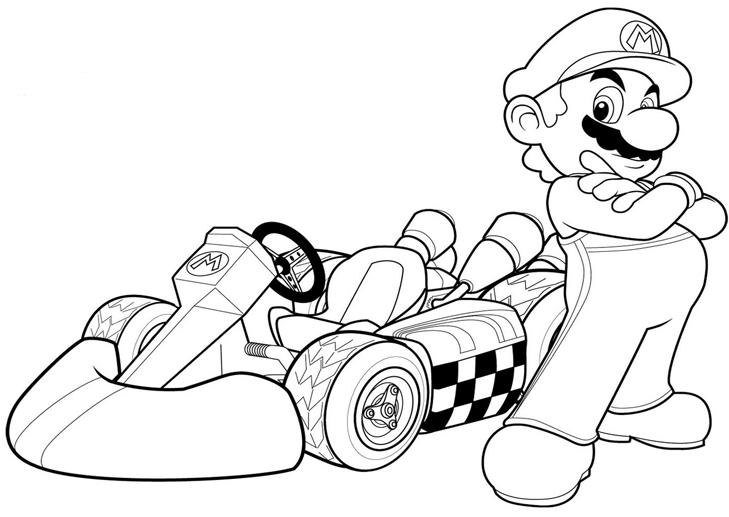 Movilmario Mario Bros Para Colorear Mario Para Colorear Dibujos De Mario