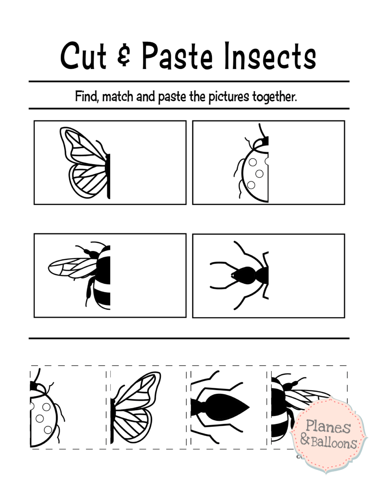 graphic relating to Free Printable Cutting Activities for Preschoolers identify Free of charge printable slash and paste worksheets for preschool