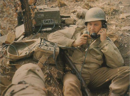 59a4e125c Radio operator   World War 2 - Photos   Us army, Army, Wwii