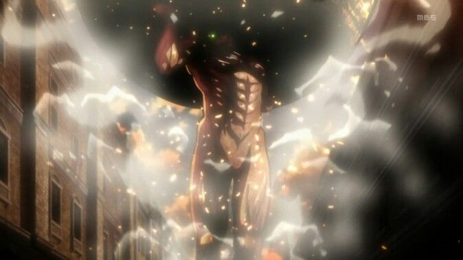 Titan Eren Moving The Boulder Attack On Titan Feuerzeug