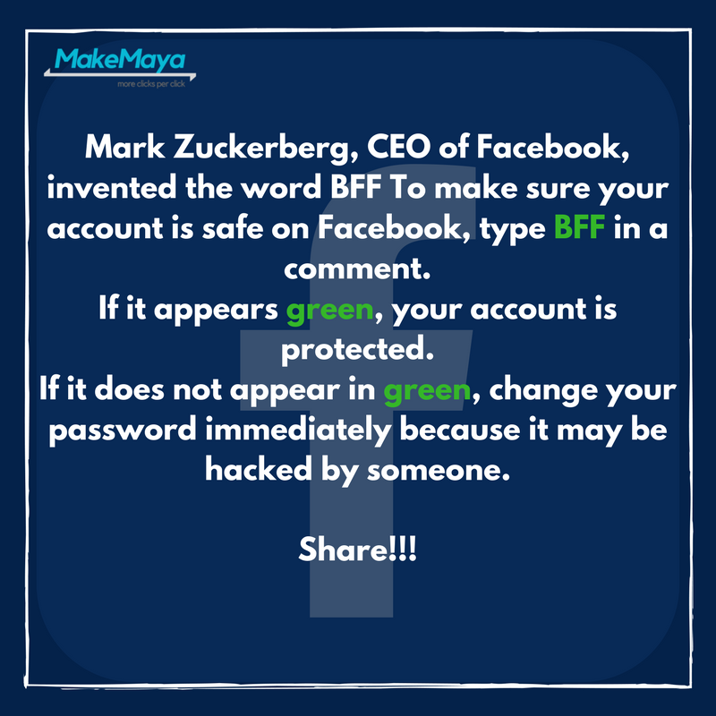 Maybe your account is not protected ! 🤔