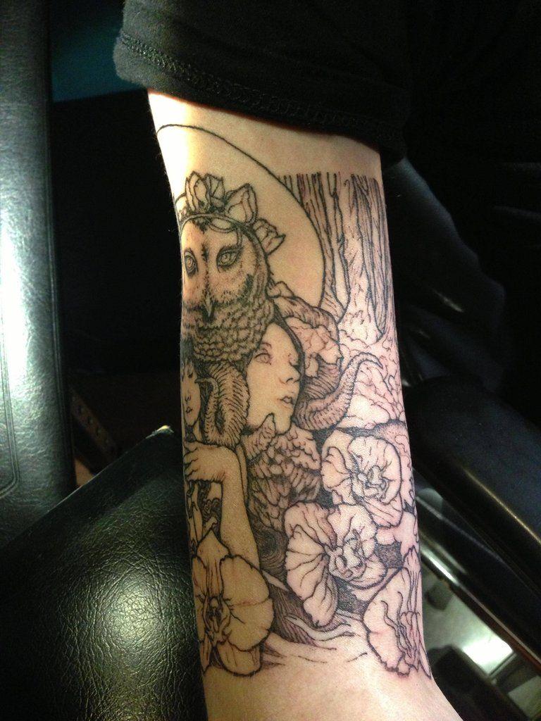 arm wrap tattoo arm wrap tattoo tattoo and body art. Black Bedroom Furniture Sets. Home Design Ideas