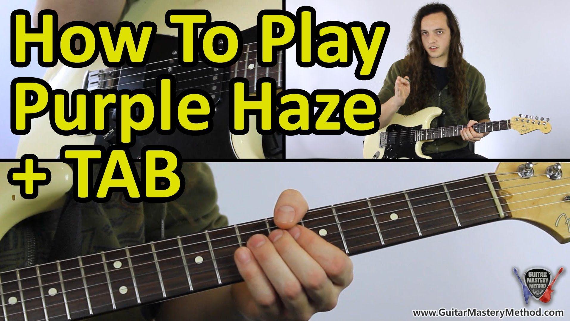 How To Play Purple Haze Jimi Hendrix Guitar Lesson Tab