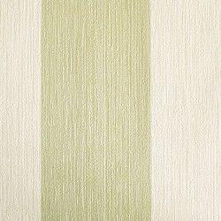 Dise o con rayas y textura en relieve crema y verde en este papel pintado de la colecci n Diseno y textura