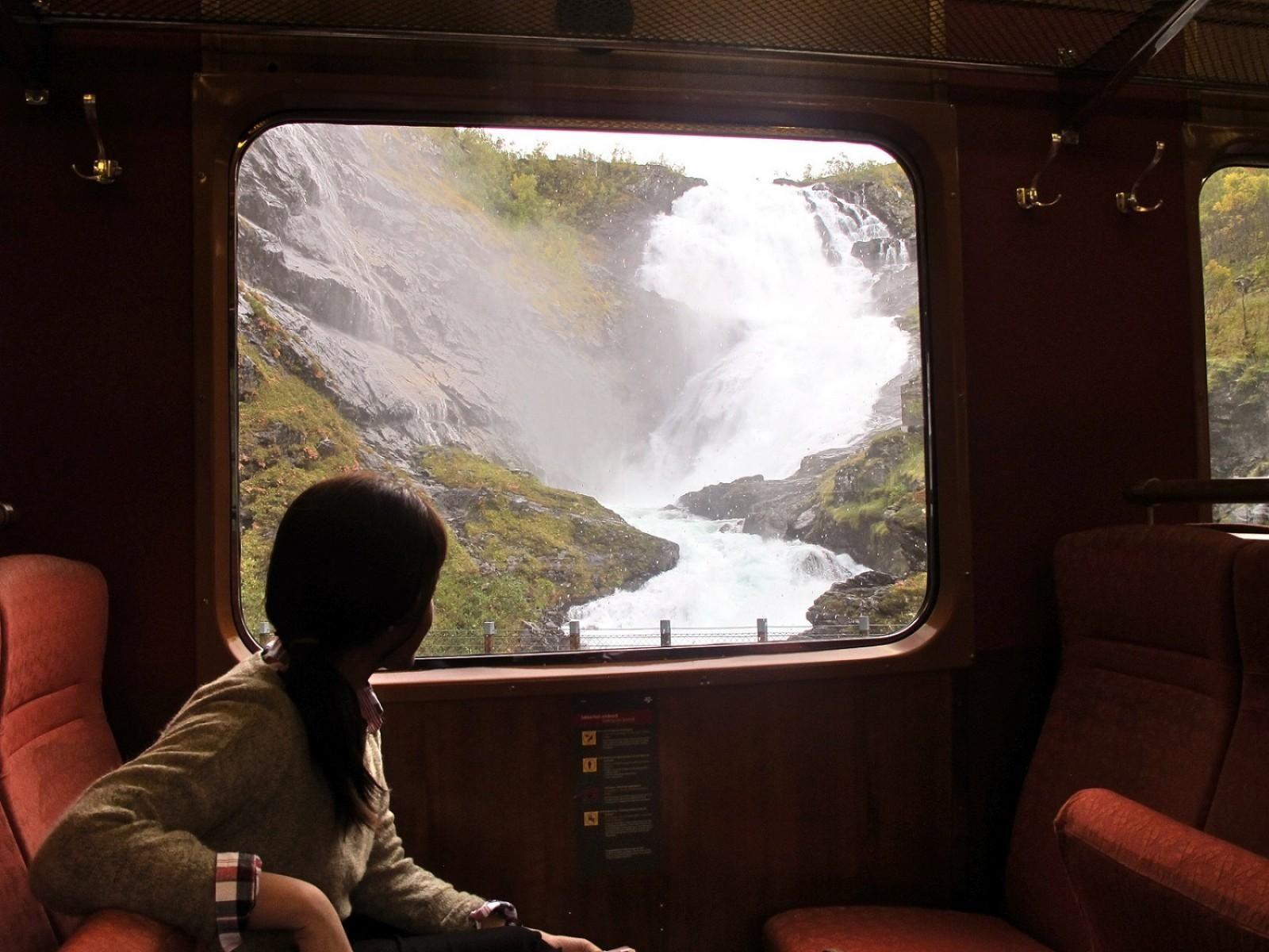 niet de bestemming maar de reis treinen door europa