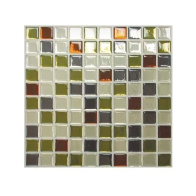 Smart Tiles Idaho 4040 In W X 4040 In H Peel And Stick Self Best Adhesive Decorative Wall Tile