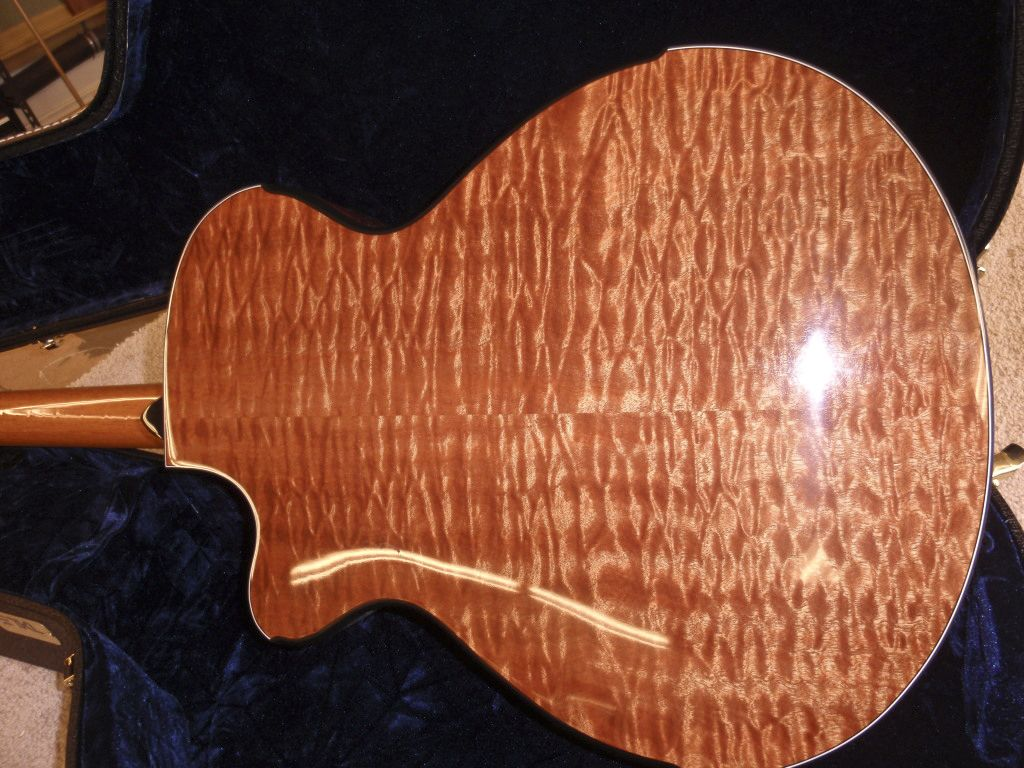 Guitar by Matt Artinger. Quilted Sapele back and sides. (Wood ... : quilted sapele - Adamdwight.com