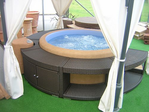 what is the cost of a soft tub rattan softub surrounds for softub resort model