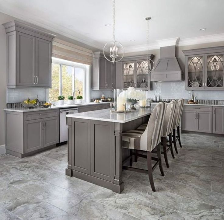 Creative Ideas For Kitchen Cabinets: 5 Ideas To Be Creative With Your Grey Kitchen Cabi