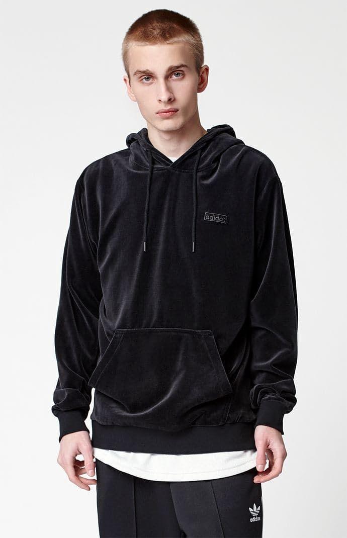 Escarpado marrón República  adidas Velour Pullover Hoodie by Adidas | Hoodies, Pullover hoodie, Lifestyle  clothing