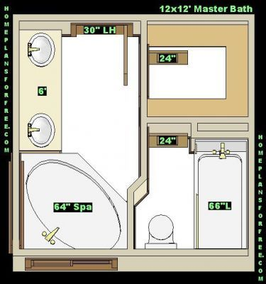 Luxury Bathroom 12 12 Bathroom Layout Trendecors