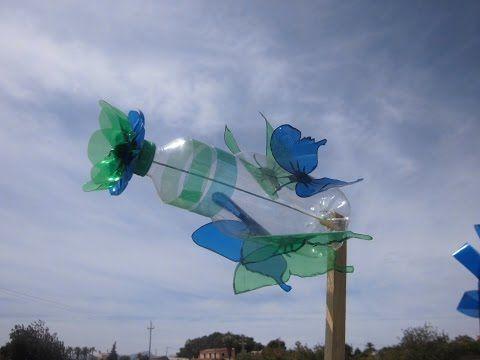 wind turbine from plastic bottles English language - YouTube ...