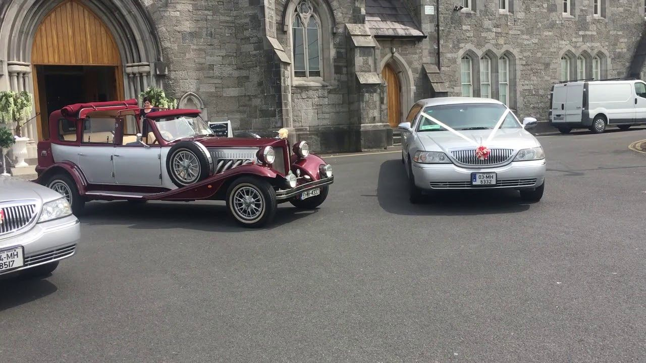 Vintage Wedding Car Hire Kpcd Meath In 2020 Vintage Car Wedding Wedding Car Vintage Wedding