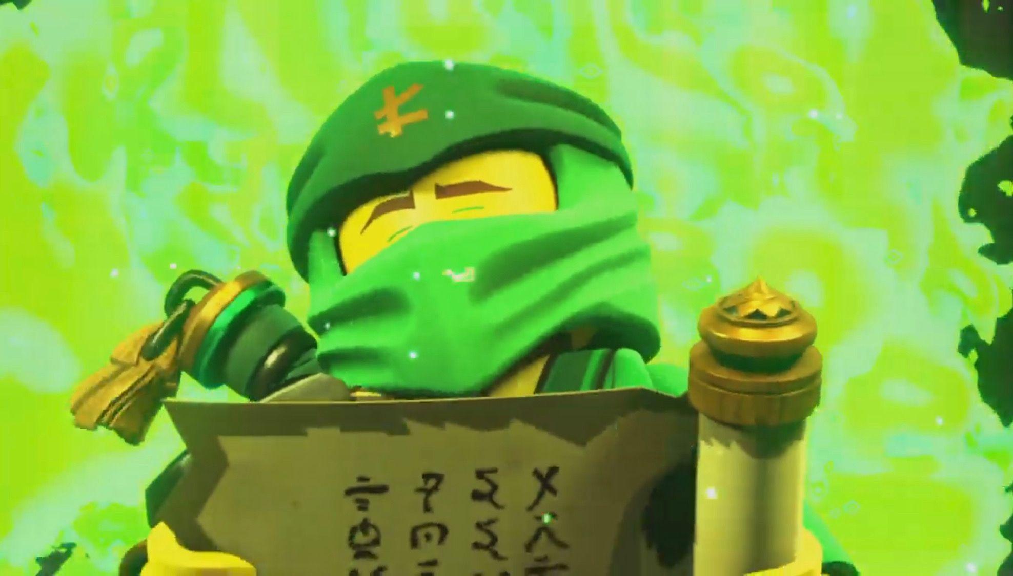Lloyd And The Scroll Of Forbidden Spinjitzu Or As The Scroll