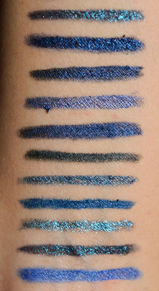 Navy Blue Eyeliners: Swatches, Dupes, and Comparisons | Stains ...