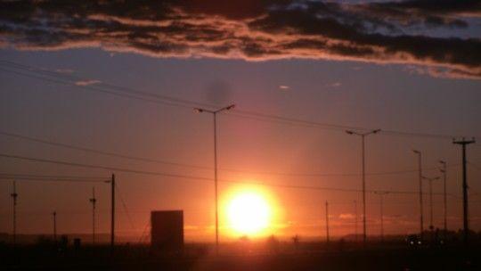 #MiAtardecer - Playa Unión Rawson Chubut Argentina.-
