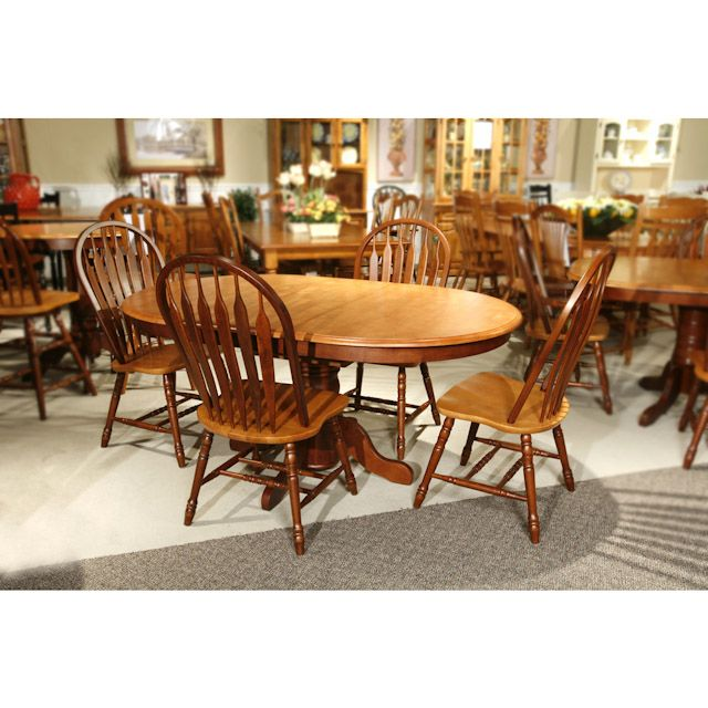 Amesbury Chair Oval Dining Set