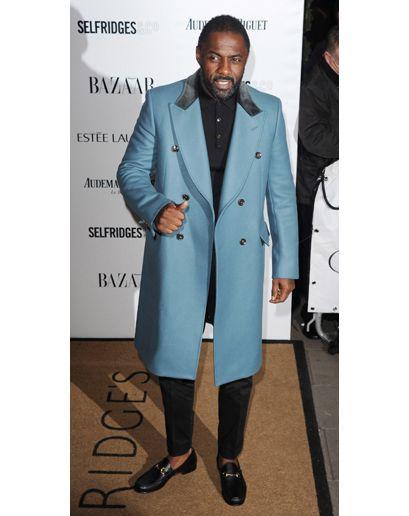 Idris Elba in London.