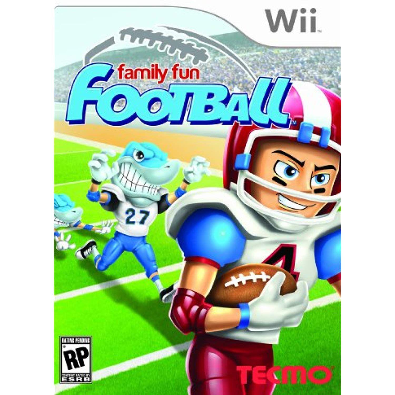 Family Fun Football Nintendo Wii *** You can get