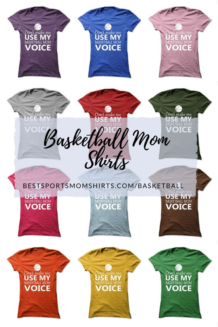 What Color Shirt Will You Buy Ad Basketball Mom Shirts