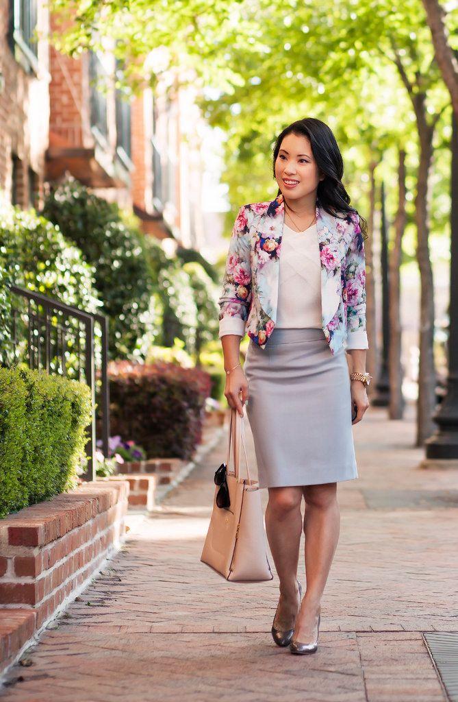 cute & little blog | petite fashion | asos petite floral cropped ...