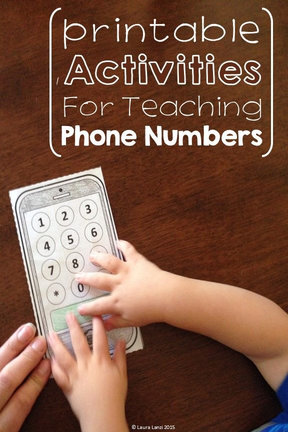 Phone Number Safety Skills Free Special Education Community