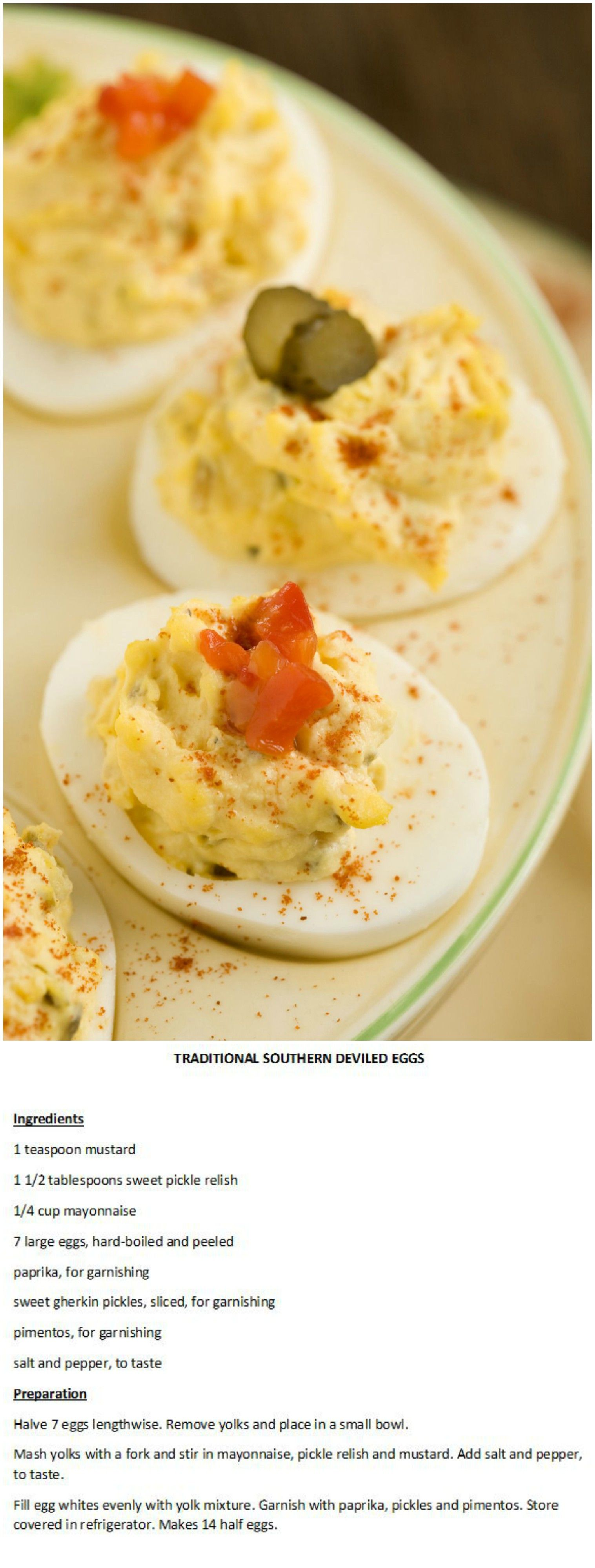 Paula Deen's Traditional Southern Deviled Eggs | Food ...