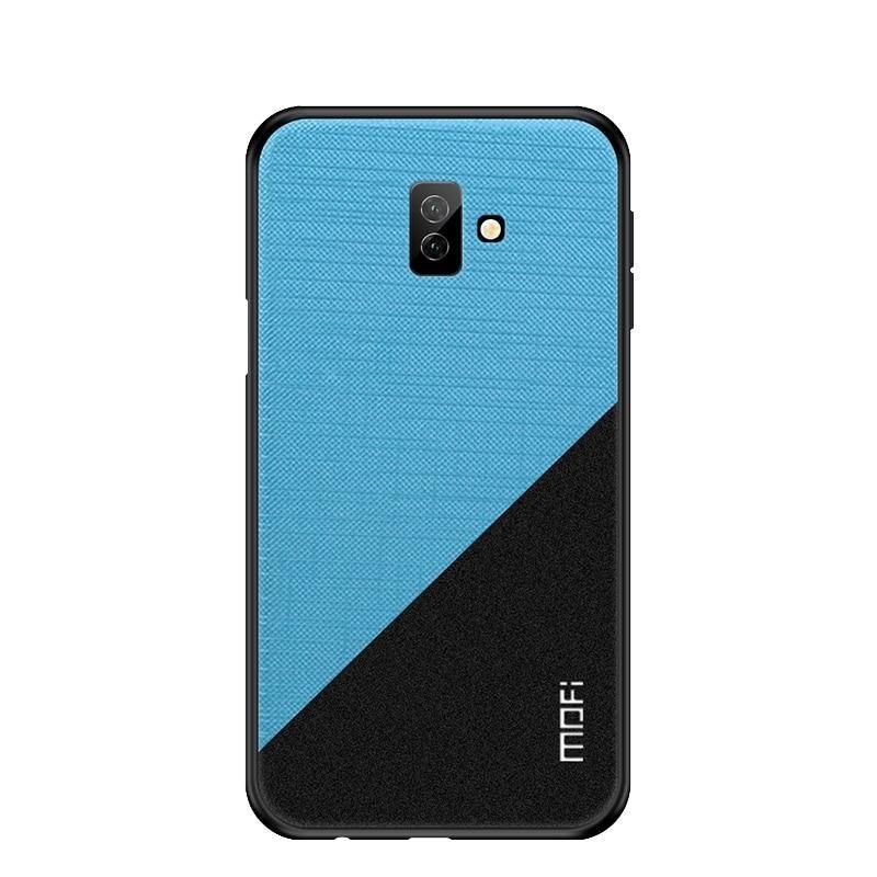 For Samsung Galaxy J6 Plus Case Mofi Bright Soft Tpu Hard Pc Fabric Cloth Smart Phone Bag Back Case Cover For Cute Phone Cases Phone Cases Trending Phone Cases